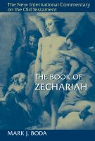 Cover image for The Book of Zechariah