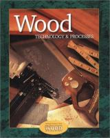Cover image for Wood technology and processes : student text
