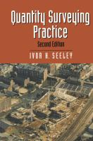 Cover image for Quantity surveying practice