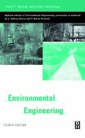 Cover image for Environmental engineering