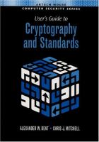 Cover image for User's guide to cryptography and standards