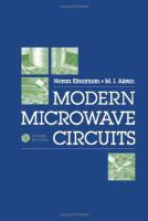 Cover image for Modern microwave circuits