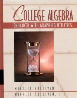 Cover image for College algebra : enhanced with graphing utilities
