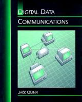 Cover image for Digital data communications