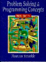 Cover image for Problem solving and programming concepts