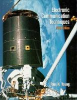 Cover image for Electronic communication techniques