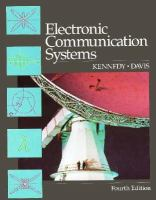 Cover image for Electronic communication systems
