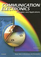 Cover image for Communication electronics : principles and applications