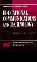 Cover image for Handbook of research for educational communications and technology : a project of the association for educational communications and technology