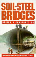 Cover image for Soil-steel bridges : design and construction
