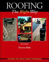 Cover image for Roofing the right way