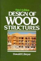 Cover image for Design of wood structures