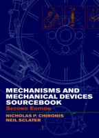 Cover image for Mechanisms & mechanical devices sourcebook