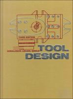 Cover image for Tool design