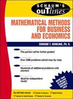 Cover image for Schaum's outline of theory and problems of mathematical methods for business and economics