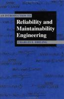 Cover image for An introduction to reliability and maintainability engineering