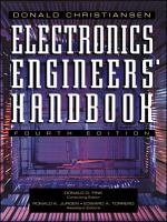 Cover image for Electronics engineers' handbook