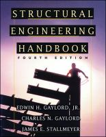 Cover image for Structural engineering handbook