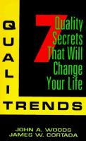 Cover image for QualiTrends : 7 quality secrets that will change your life