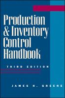 Cover image for Production and inventory control handbook