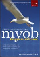 Cover image for Computer accounting using MYOB business software