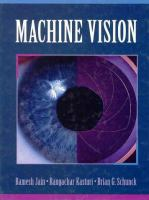 Cover image for Machine vision