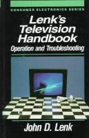 Cover image for Lenk's television handbook : operation and troubleshooting