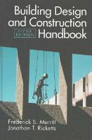 Cover image for Building design and construction handbook