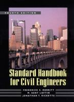 Cover image for Standard handbook for civil engineers