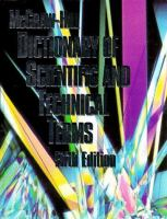 Cover image for McGraw-Hill dictionary of scientific and technical terms