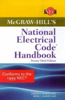 Cover image for McGraw-Hill's national electrical code handbook
