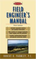 Cover image for Field engineer's manual