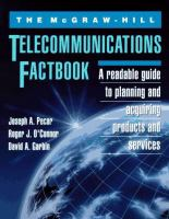 Cover image for The McGraw-Hill telecommunications factbook