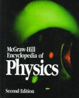 Cover image for McGraw-Hill encyclopedia  of physics