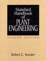 Cover image for Standard handbook of plant engineering