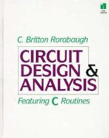 Cover image for Circuit design analysis featuring C routines