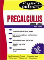 Cover image for Schaum's outline of theory and problems of precalculus