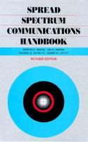 Cover image for Spread spectrum communications handbook
