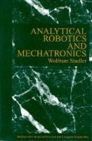 Cover image for Analytical robotics and mechatronics