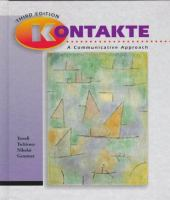 Cover image for Kontakte : A Communicative approach