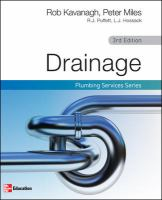 Cover image for Drainage plumbing services series