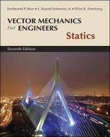 Cover image for Vector mechanics for engineers : statics