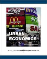 Cover image for Urban economics