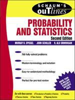 Cover image for Schaum's outline of theory and problems of probability and statistics