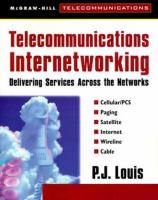 Cover image for Telecommunications internetworking : delivering servicess across the networks