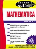 Cover image for Schaum's outline of theory and problems of mathematica