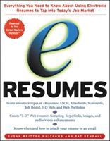 Cover image for eResumes :  everything you need to know about using electronic resumes to tap into today's job market
