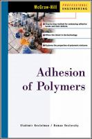 Cover image for Adhesion of polymers