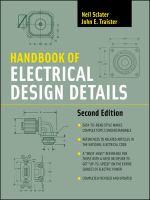 Cover image for Handbook of electrical design details