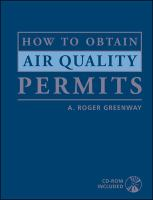 Cover image for How to obtain air quality permits